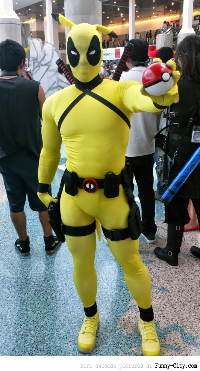 Deadpool or Pikachu?