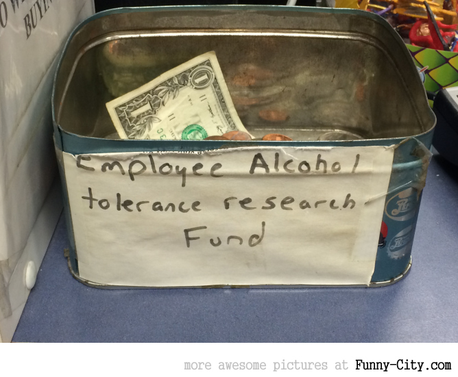 Honest tip jar!