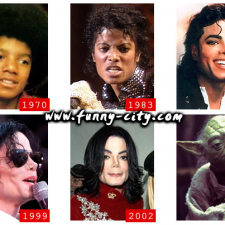 Michael Jackson Evolution