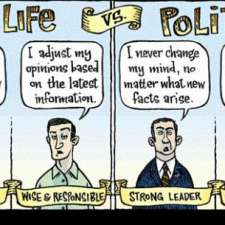 Real life Vs Politics