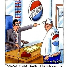 Pepsi Co - Fired