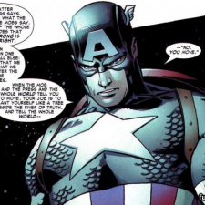 Captain America on integrity