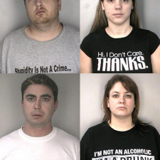 T-Shirts you don't want to get arrested in