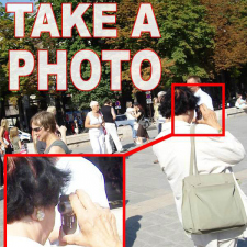 How to take a photo