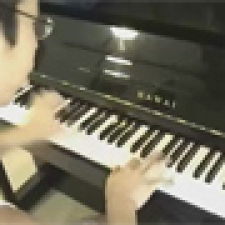 The super mario pianist