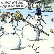 Snowman vs Rabbit