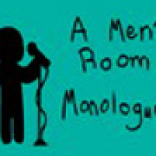 A men's room monologue