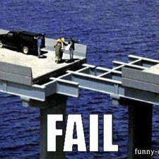 Bridge fail