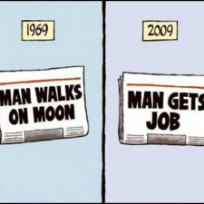 Go to the moon or get a job?