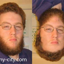 Beard for hair?
