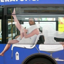 10 extremely creative advertisements on buses