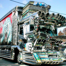 20 Japanese Bling Bling Trucks