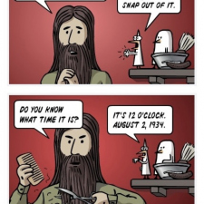 The other side of Jesus!