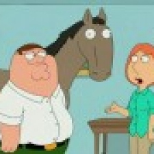 Family Guy - The Brain Damaged Horse!
