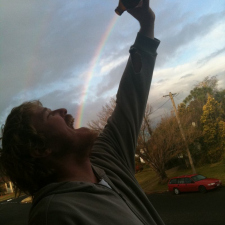 Drinking the rainbow