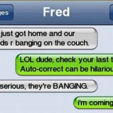 Auto-correct can be hilarious...