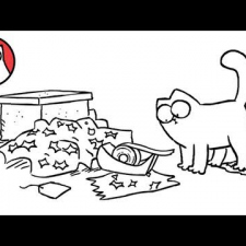 Simon's Cat - Sticky Tape