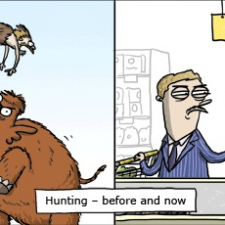 Hunting Before and Now