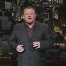 Frank Caliendo on David Letterman
