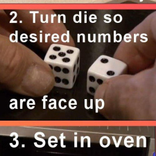 How to make cheating dice