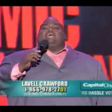 Lavell Crawford - Job at Happy Burger
