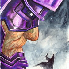 Batman vs Galactus