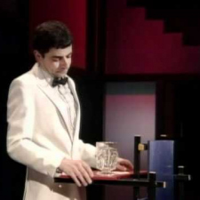 Rowan Atkinson - The Good loser - award ceremony with Al Pacino
