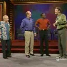 Robin Williams on Whose Line Is It Anyway? [part 1]