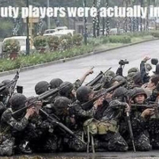 Call of Duty in real life