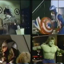 The Avengers '78 - TV movie promo