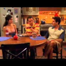 Two and a half men - bloopers