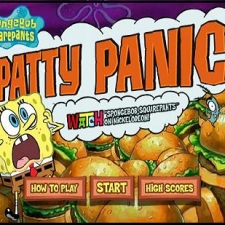 Sponge Bob Square Pants: Patty Panic
