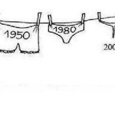 Evolution of underwear