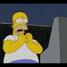 The Simpsons - Homer tries to vote for Obama