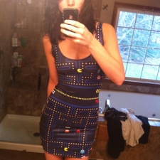Awesome Pacman dress
