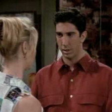 Friends - Ross and Phoebe argue about Evolution