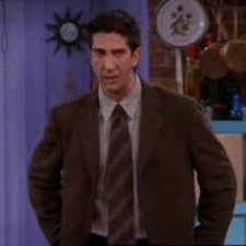 Friends - Ross's English accent