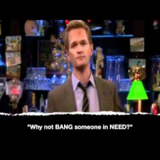 How I Met Your Mother - Barney top 10 quotes