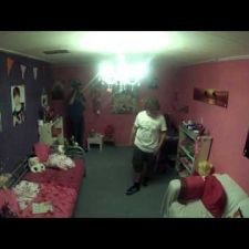 Revenge is a dish best served pink - Little girl's room prank