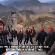 A Idiot to the Great Wall