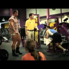 Planet Fitness TV ad 2011 - I lift things up and put them down