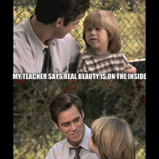 Jim Carrey speaks the truth about beauty