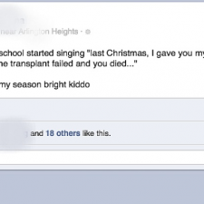 Last Christmas I gave you my heart.... [fb]