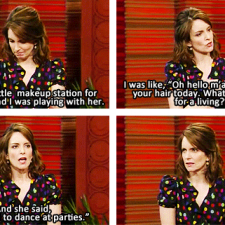 Tina Fey's daughter sounds hilarious