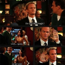Some Barney Stinson magic