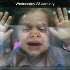 Child stuck in iphone