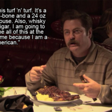 Some of my favourite Ron Swanson quotes