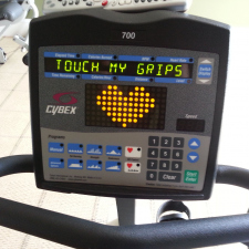 My stationary bike is feeling pretty frisky right now.