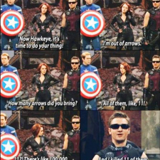 The Avengers in real life.