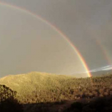 Yosemitebear Mountain Double Rainbow